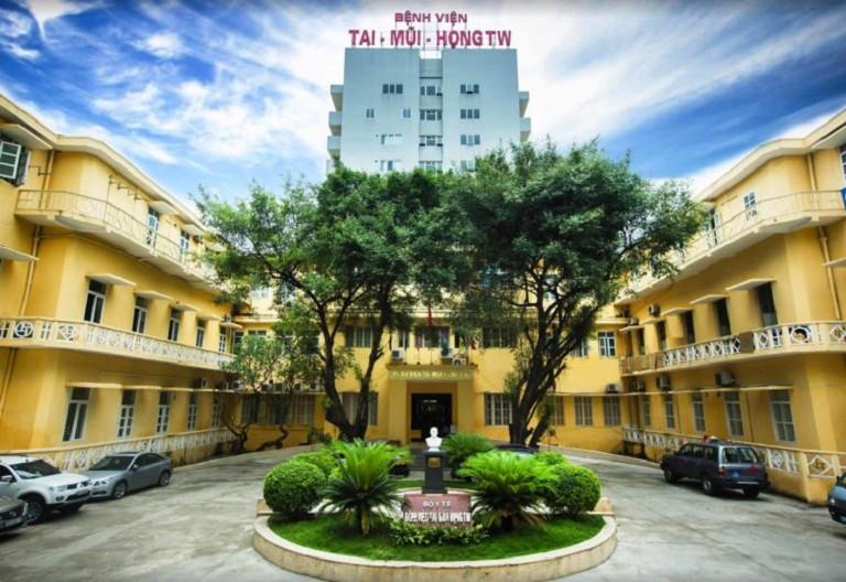 Bệnh viện Tai Mũi Họng Trung Ương - địa chỉ khám tai mũi họng tại Hà Nội uy tín