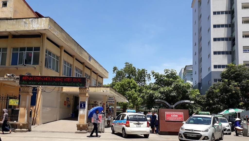 bệnh viện Hữu Nghị Việt Đức là địa chỉ khám tai mũi họng ở hà nội