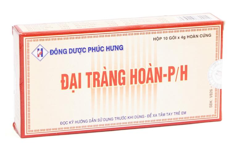Đại tràng hoàn PH được bào chế từ nhiều loại dược liệu có nguồn gốc từ tự nhiên.