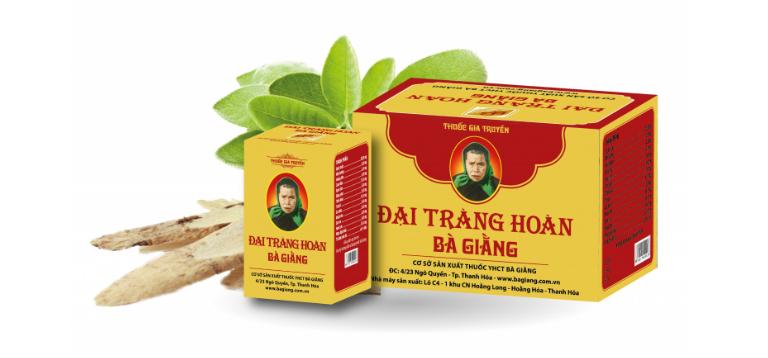 Đại Tràng Hoàn Bà Giằng được bào chế từ dược liệu tự nhiên, an toàn, lành tính đối với người dùng.