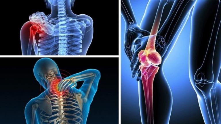 đau nhức xương khớp
