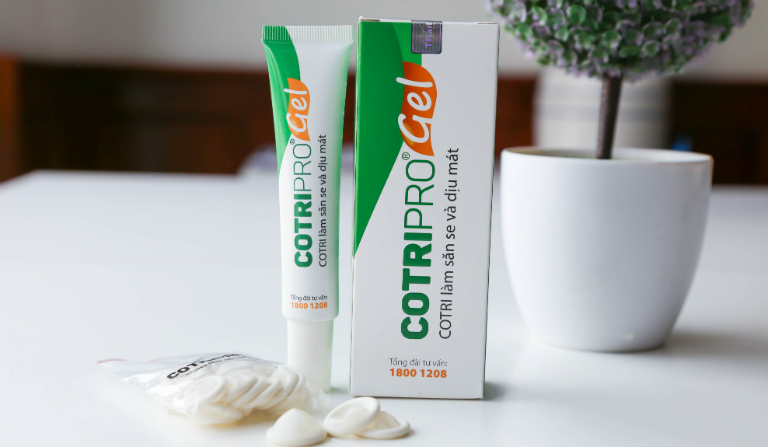 Cotripro Gel dùng để điều trị trĩ hỗn hợp, trĩ nội, trĩ ngoại, rõ hậu môn,...
