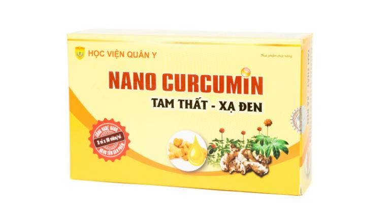 """Thuốc Nano Curcumin do Học viện Quân y bào chế nên thường được gọi tắt là """"Nano Curcumin Học viện Quân y""""."""