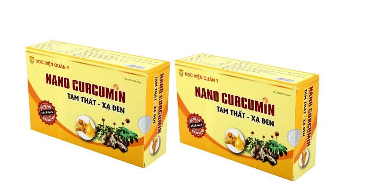 Giá bán của thuốc Nano Curcumin là 250.000 VNĐ/hộp.