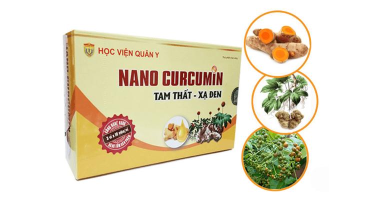 Nano Curcumin được bào chế từ các loại dược liệu tự nhiên.