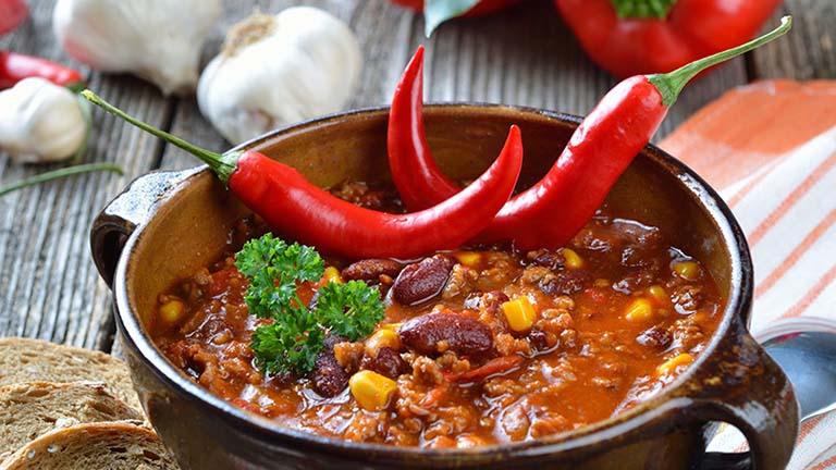 thực phẩm cay nóng