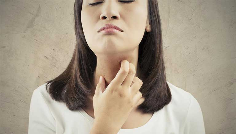 nguyên nhân và dấu hiệu nhận biết bệnh ngứa họng