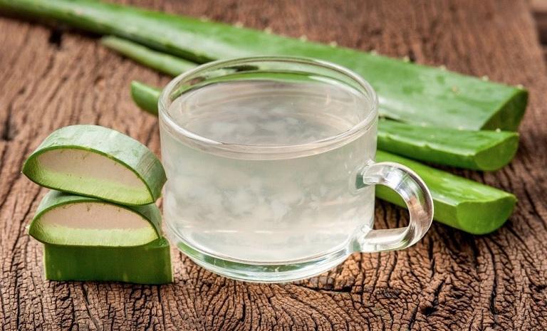 uống nha đam chữa đau dạ dày