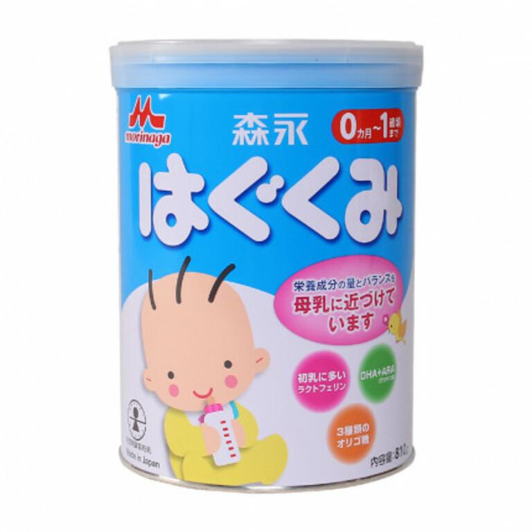 Sữa Morinaga tốt cho trẻ sơ sinh bị táo bón
