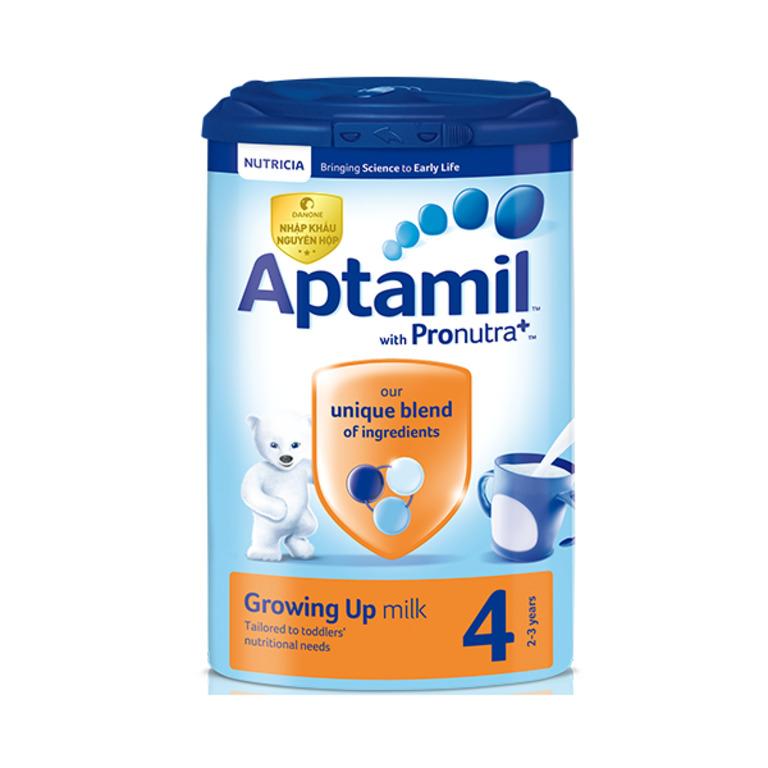 Sữa Aptamil bổ sung men vi sinh tự nhiên, giúp trẻ có hệ tiêu hóa phát triển bình thường, chống lại chứng táo bón