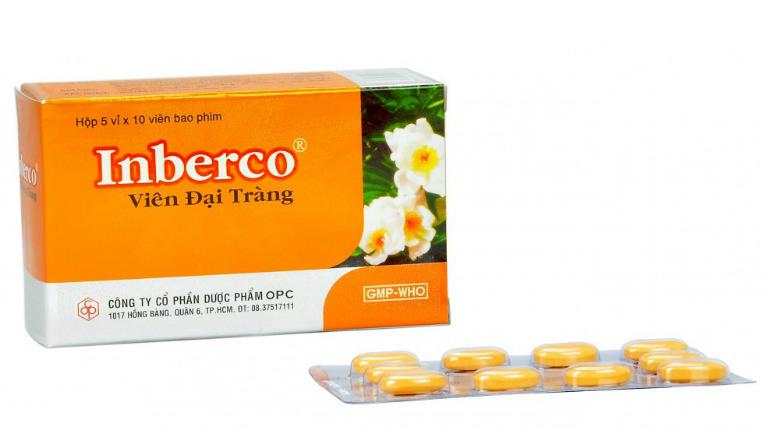 Thuốc đại tràng Inberco là thuốc điều trị những bệnh gì?