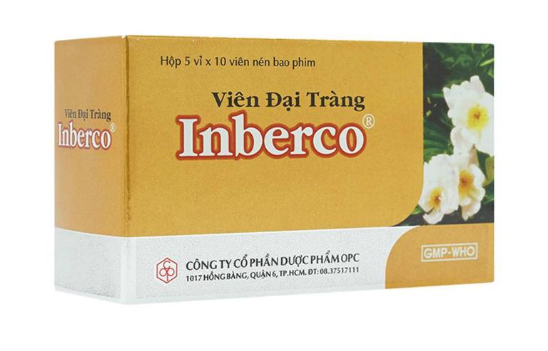 Phụ nữ có thai tuyệt đối không dùng thuốc đại tràng Inberco.