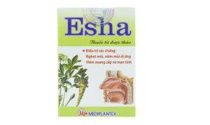 Thuốc Esha là thuốc điều trị bệnh viêm xoang, viêm mũi.