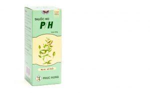 Thuốc Ho PH được bào chế ở dạng siro, dùng để chữa trị các chứng ho.
