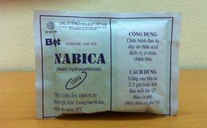 Cùng một sản phẩm là thuốc muối Nabica nhưng có người dùng hết đau dạ dày, có người dùng xong bệnh nặng hơn