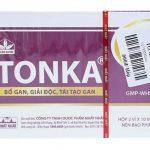 Thuốc Tonka là thuốc dùng để giải độc gan, điều trị một số chứng bệnh về gan.