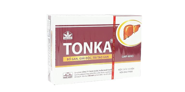 Thuốc Tonka dùng được ở cả người lớn và trẻ em.
