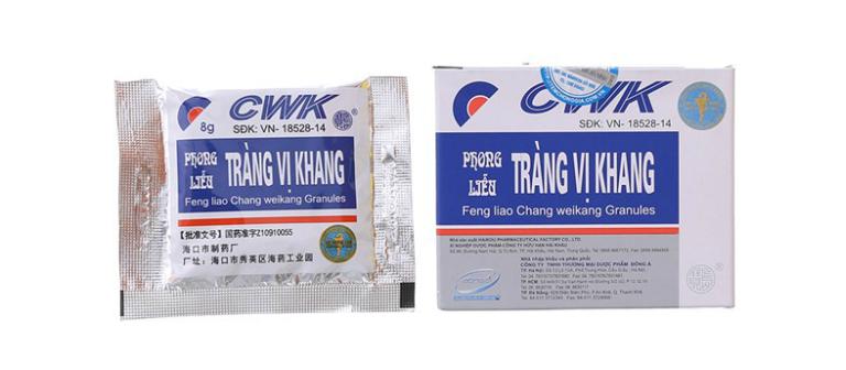 Thuốc cốm Tràng Vị Khang được bào chế từ thảo mộc tự nhiên, an toàn đối với sức khỏe người dùng.