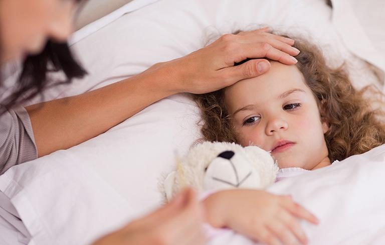 viêm dạ dày ruột ở trẻ em