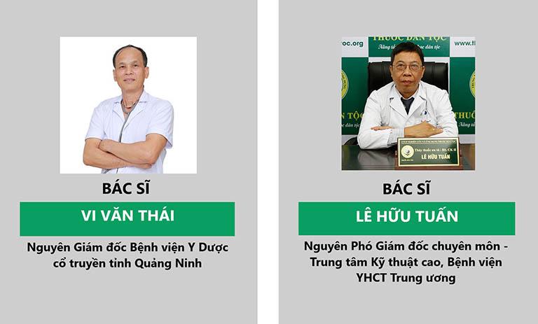 các bác sĩ bấm huyệt chữa yếu sinh lý tại Trung tâm Thuốc dân tộc