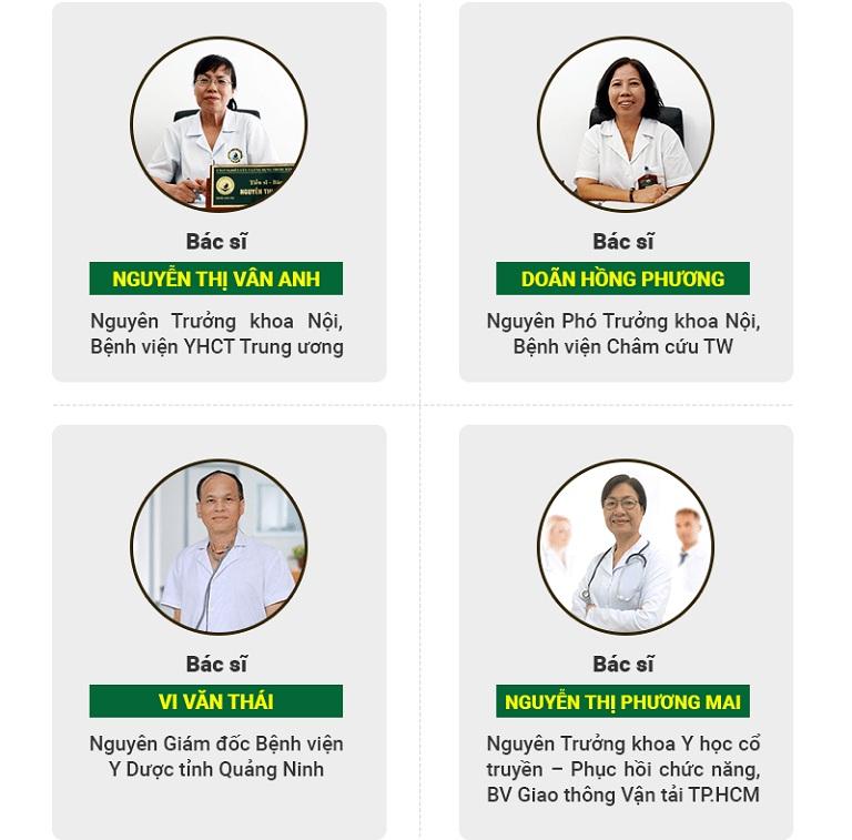 Đội ngũ bác sĩ châm cứu giảm cân tại Trung tâm Thuốc dân tộc