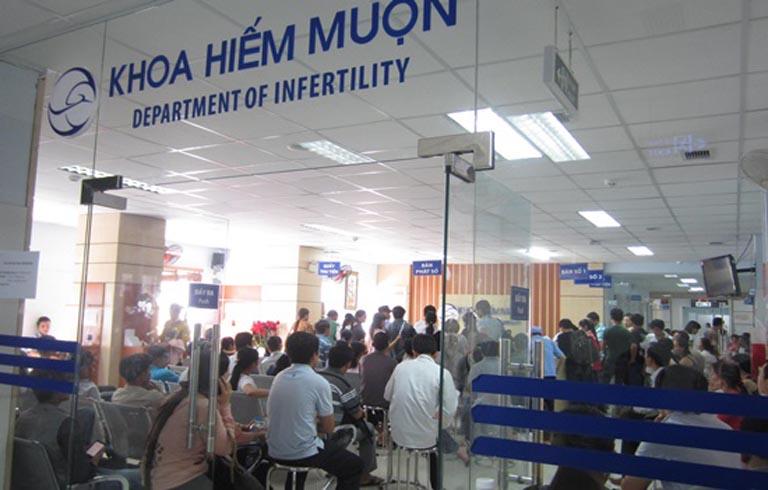 Bệnh viện Từ Dũ khoa khám hiếm muộn