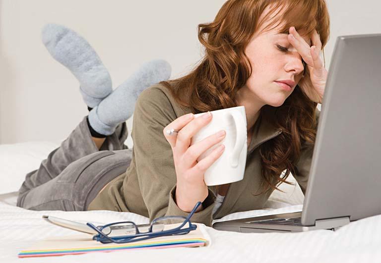 Căng thẳng có thề gây ra triệu chứng buồn nôn