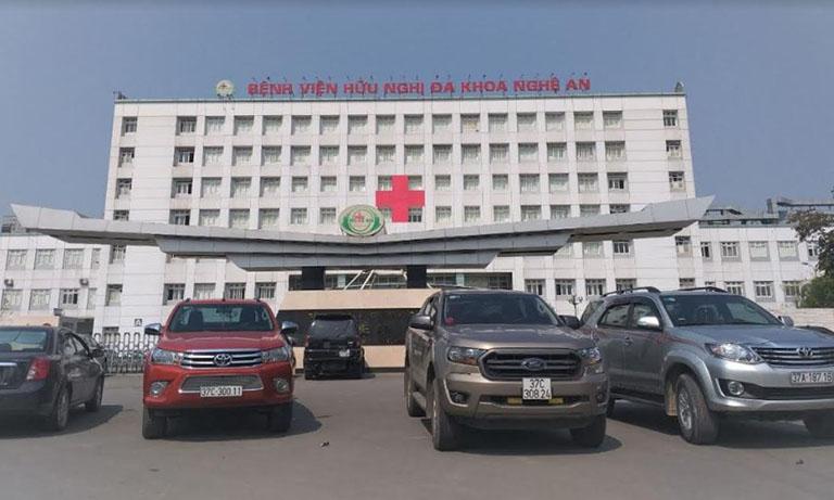 Bệnh viện Hữu Nghị Đa Khoa Nghệ An - địa chỉ chữa bệnh trĩ ở nghệ an chất lượng