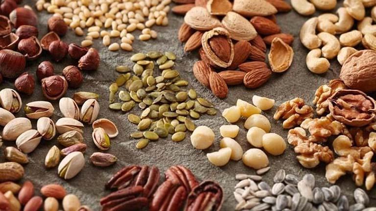 các loại hạt là thực phẩm tốt cho xương khớp