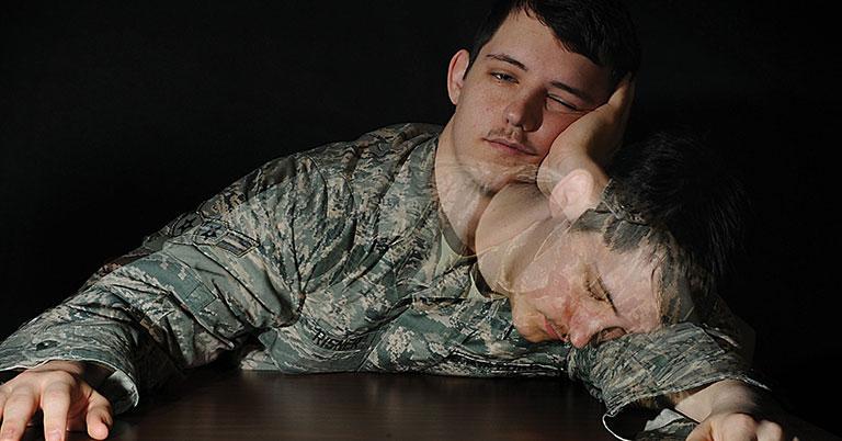 cách ngủ trong 2 phút của lính mỹ