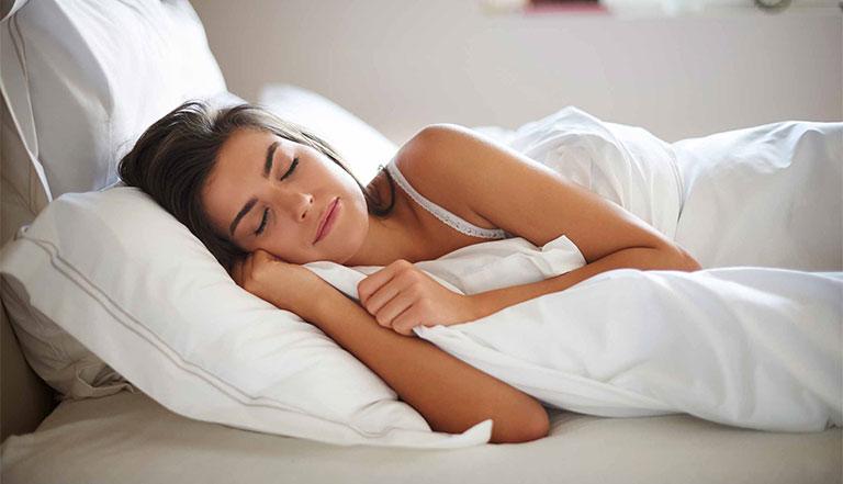 cách ngủ nhanh trong 1 phút