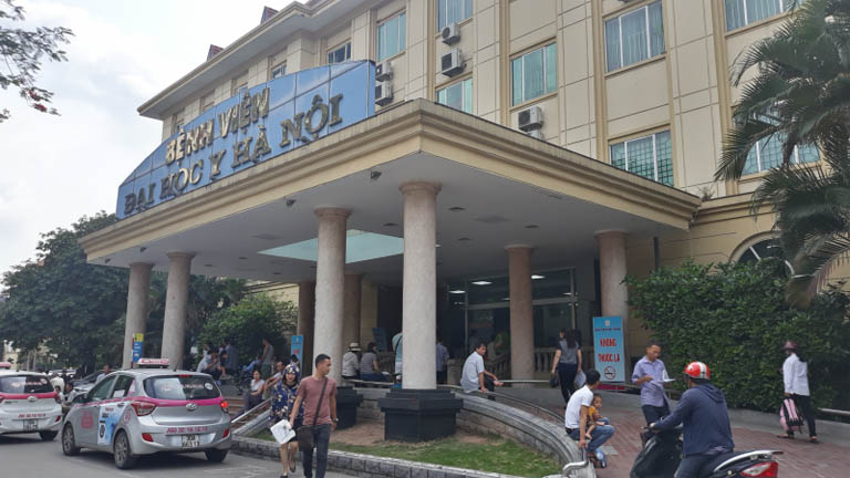 cắt amidan ở bệnh viện Đại Học Y Hà Nội
