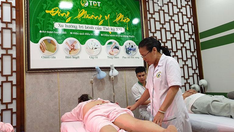 Châm cứu tại Trung tâm Thuốc dân tộc hiệu quả ngay buổi trị liệu đầu tiên