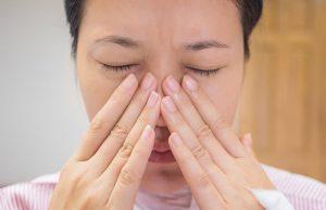 đau mũi