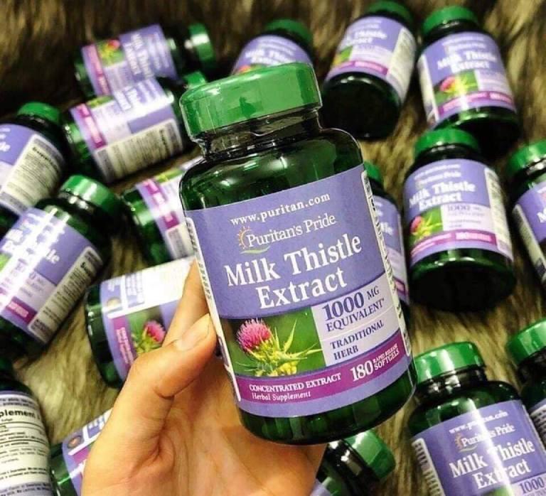 tác dụng của Milk Thistle 1000 mg