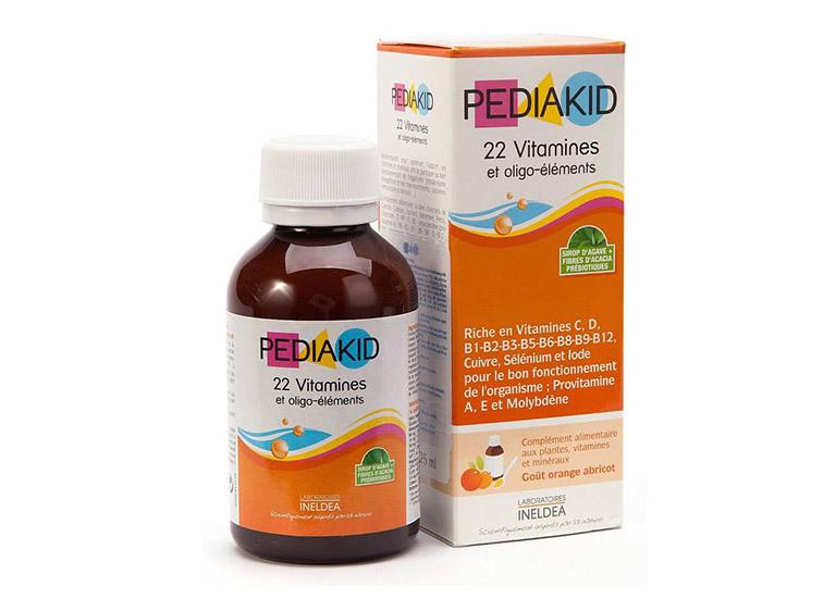 thành phẩn của pediakid 22 vitamin