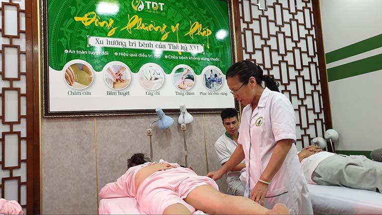 Châm cứu giảm cân tại Trung tâm Thuốc dân tộc