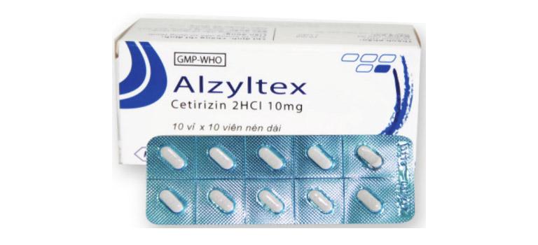 thuốc alzyltex có tác dụng gì