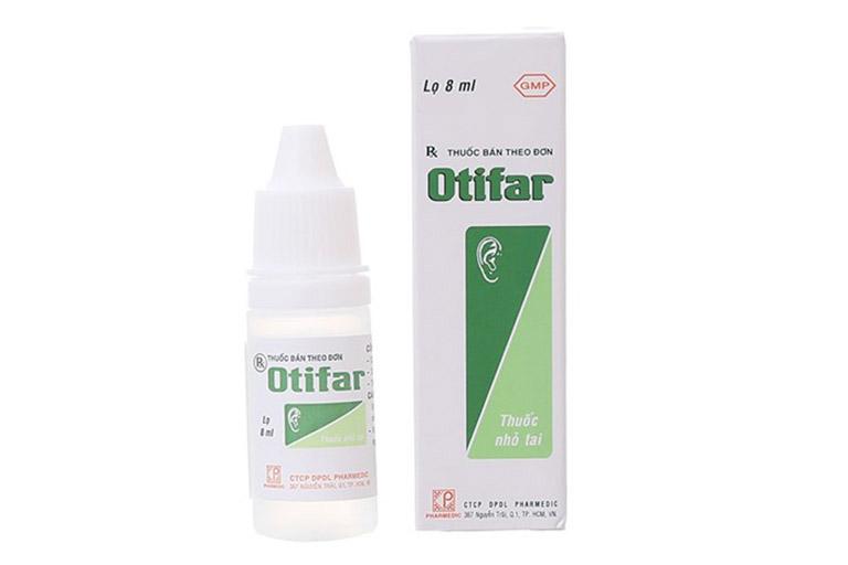Thuốc nhỏ tai Otifar