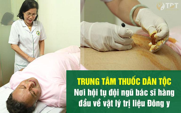 Đến với Trung tâm Thuốc dân tộc, bệnh nhân được trị liệu trực tiếp bởi đội ngũ bác sĩ hàng đầu