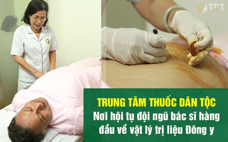 cấy chỉ chữa bệnh tại Trung tâm Thuốc Dân Tộc