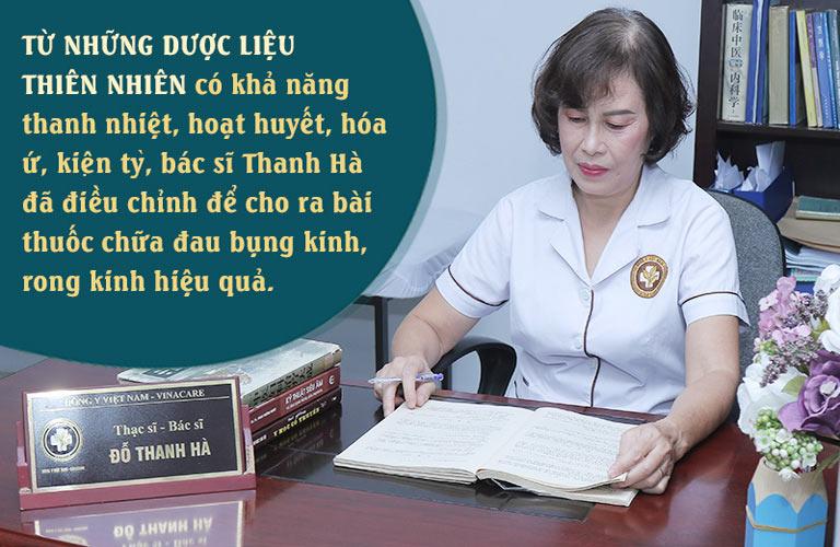 Bài thuốc chữa đau bụng kinh của bác sĩ Hà đảm bảo an toàn, lành tính