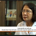 BS Tuyết Lan tư vấn trong chương trình VTC2 giới thiệu bài thuốc chữa bệnh trĩ Thăng trĩ Dưỡng huyết thang