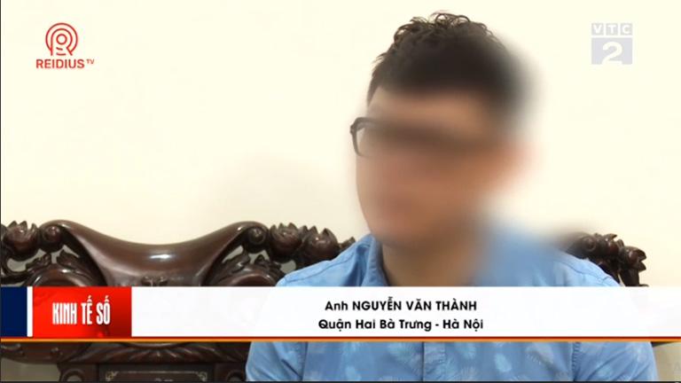 Anh Thành chia sẻ về tình trạng bệnh với phóng viên trong phóng sự VTC2 đưa tin về Thuốc dân tộc