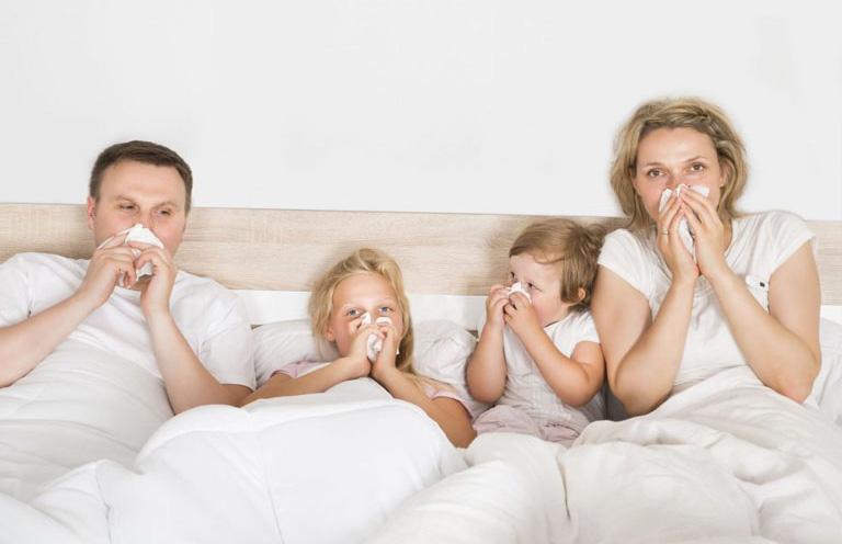 bệnh viêm mũi dị ứng có lây không