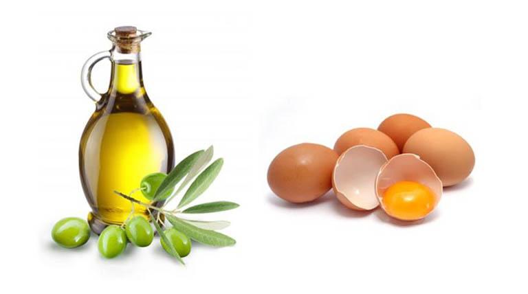 cách chữa rụng tóc ở tuổi dậy thì bằng lòng đỏ trứng dầu ô liu