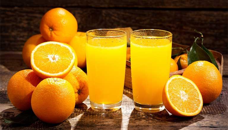 Công dụng của nước cam