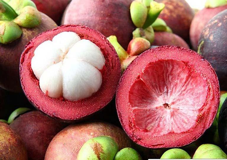 ăn quả măng cụt có tác dụng gì