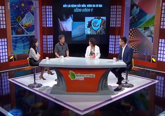 Sống khỏe mỗi ngày - VTV2: Mục tiêu và đích đến của chúng tôi cũng giống như Trung tâm Thuốc dân tộc đều là vì sức khỏe người Việt