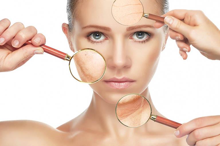 tác hại của ngủ muộn với làn da